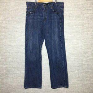 Calvin Klein Mens Jeans 38x31 Straight Leg